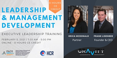Leadership & Management Development Seminar - 8 HR CE - Online tickets