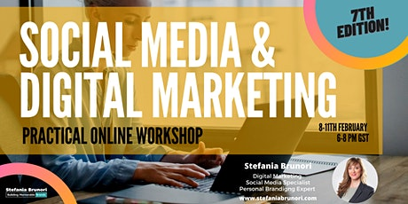 Social Media & Digital PRACTICAL Workshop for SMEs  & Solopreneurs tickets