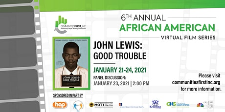 Communities First, Inc. to Screen John Lewis:  Good Trouble tickets