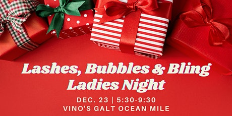 Lashes, Bubbles & Bling Ladies Night tickets