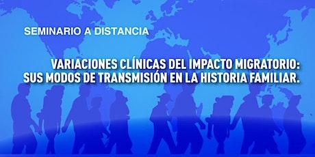 Variaciones clínicas del efecto migratorio entradas