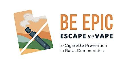 Vape Prevention Parent Webinar (Carbon County) tickets