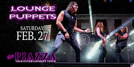 Lounge Puppets - A Tribute to Hair Metal tickets