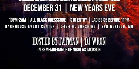 NYE All Black Party (Heaven & Hell Bash) tickets