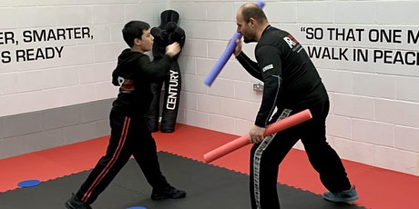 Teens Self-Defence & Fitness - 3 Trial Classes for Seniors 11 to 16 yrs tickets