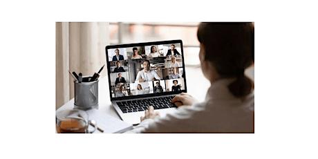 Mastering Virtual Meetings, Webinars, and Remote Workshops tickets