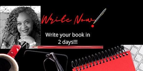 Write Now! tickets