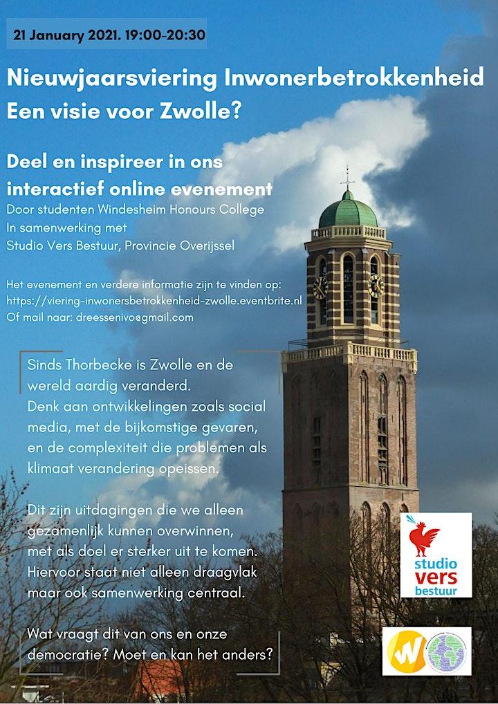 Afbeelding van Nieuwjaarsviering Inwonersbetrokkenheid - Zwolle