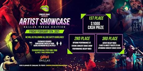 Concert Crave Artist Showcase - DALLAS, TX 2.5.21 tickets