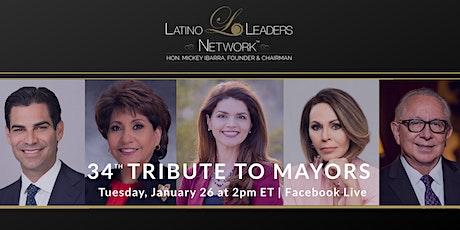34th Tribute to Mayors honoring Mayor Regina Romero tickets