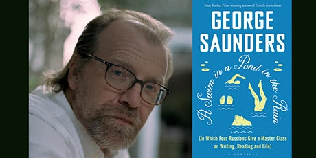 5x15 presents: George Saunders and Max Porter in conversation tickets