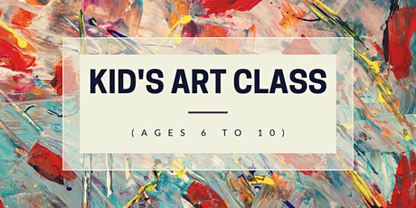 Kid's Art Class (Ages 6-10) tickets