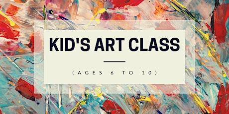 Kid's Art Class (Ages 6-10) tickets