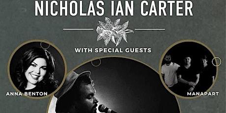 Nicholas Ian Carter w/ Man Apart & Anna Benton tickets