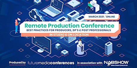 Remote Production Conference tickets