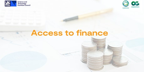 Access to Finance for Innovators - Grant Funding tickets
