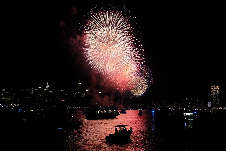 New Year's Eve Fireworks Cruise aboard the Timeless image