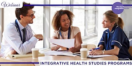 Webinar | Become an Integrative Health Specialist biglietti
