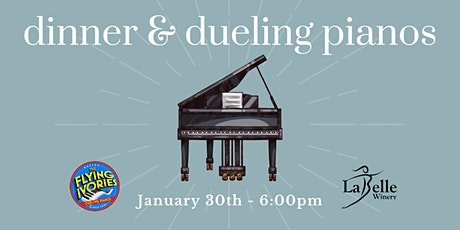 Dinner & Dueling Pianos with The Flying Ivories tickets