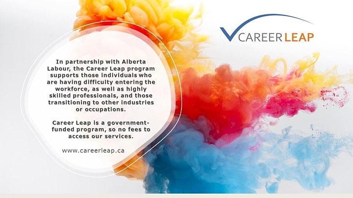 Free Job Search Assistance Program: Career Leap Info Session +Resume Review image