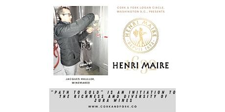 Domaine Maire Henri, Jura: Jacques Hauller, Winemaker tickets
