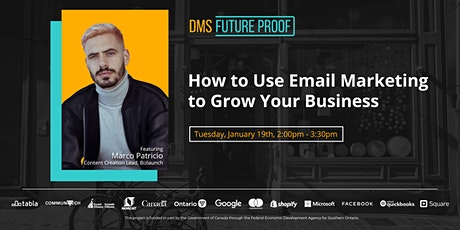 How to Use Email Marketing to Grow Your Business tickets