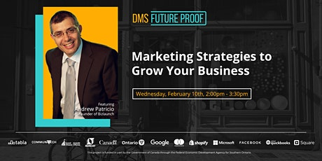 Marketing Strategies to Grow Your Business tickets