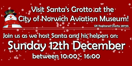 Father Christmas lands at Norwich Aviation Museum 2021! tickets