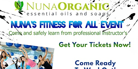 Nuna's Fitness For All tickets