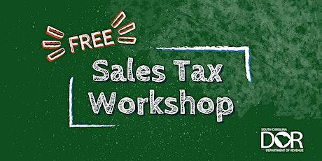 Sales Tax Workshop tickets