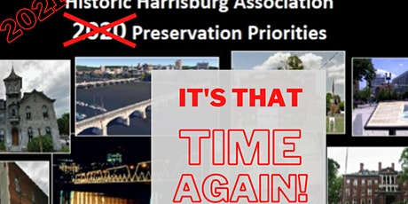 Historic Harrisburg's 2021 Preservation Priorities tickets