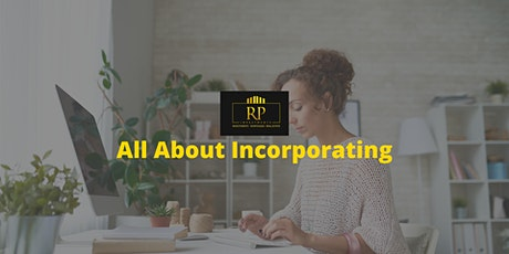 All About Incorporating - How to Buy Your Investment Properties tickets