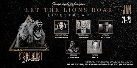 Let the Lions Roar Conference - LIVESTREAM tickets