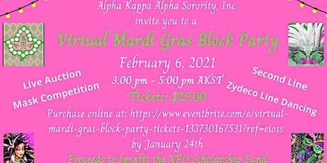 Virtual Mardi Gras Block Party tickets
