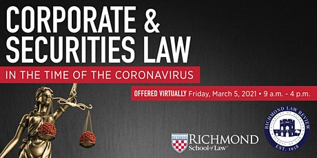 Law Review Symposium (VIRTUAL EVENT) tickets