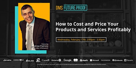 How to Cost and Price Your Products and Services Profitably tickets
