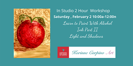 Learn to Paint with Alcohol Ink - Part 2 tickets