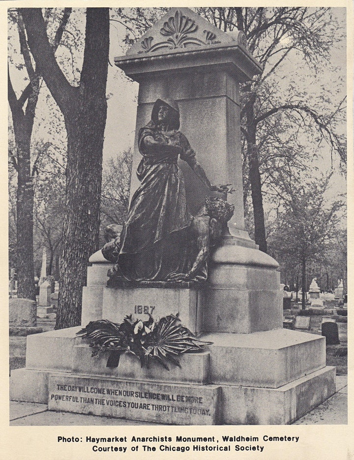 Haymarket Martyrs Monument & Radical Row Tour image