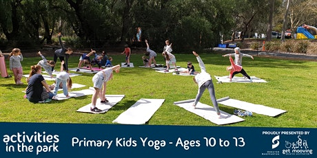 Primary Kids Yoga (10-13 Years) tickets
