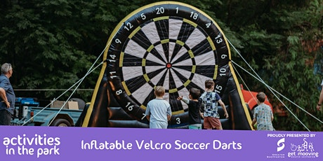 Inflatable Velcro Soccer Darts tickets
