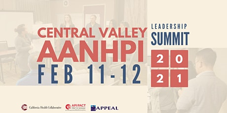 Central Valley Adult AANHPI Leadership Summit tickets
