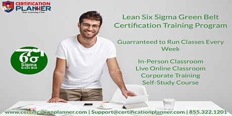 Certified Lean Six Sigma Green Belt(LSSGB) Training in Augusta tickets