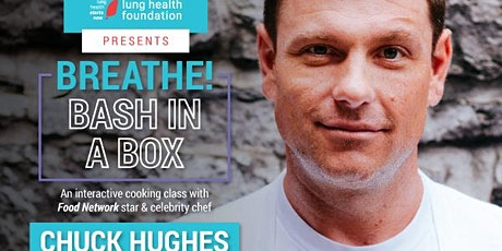 Cooking Class with Celebrity Chef Chuck Hughes + an Evening of Inspiration tickets