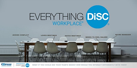 Workplace DiSC: Build a Better Workplace In-Person Training tickets