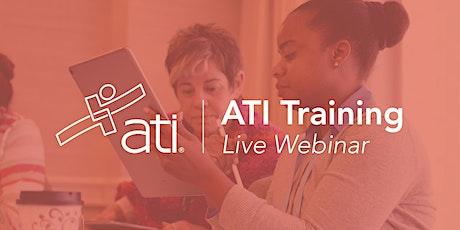 Best Practices Using ATI Data in Program Evaluation tickets