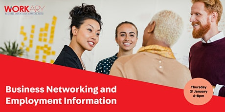 Business Networking and Employment Information tickets