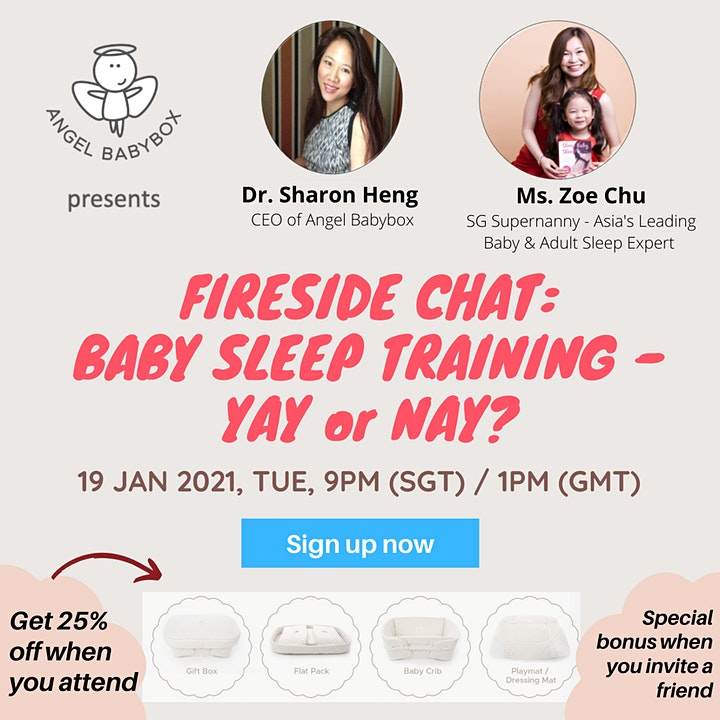 FIRESIDE CHAT: BABY SLEEP TRAINING - YAY OR NAY? image