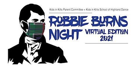 Kids in Kilts Parent Committee Robbie Burns Night tickets