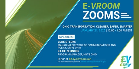 January E-Vroom Zoom | Ohio Transportation: Cleaner, Safer, Smarter tickets