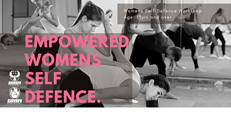 Empowered Women Self Defence tickets